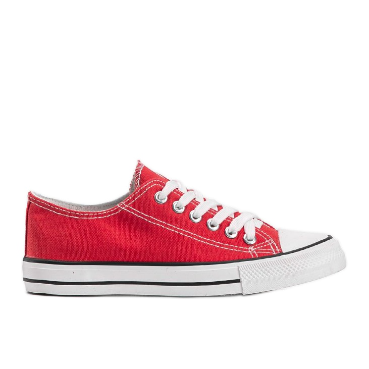 Destini classic red low sneakers