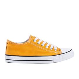 Destini yellow low classic sneakers
