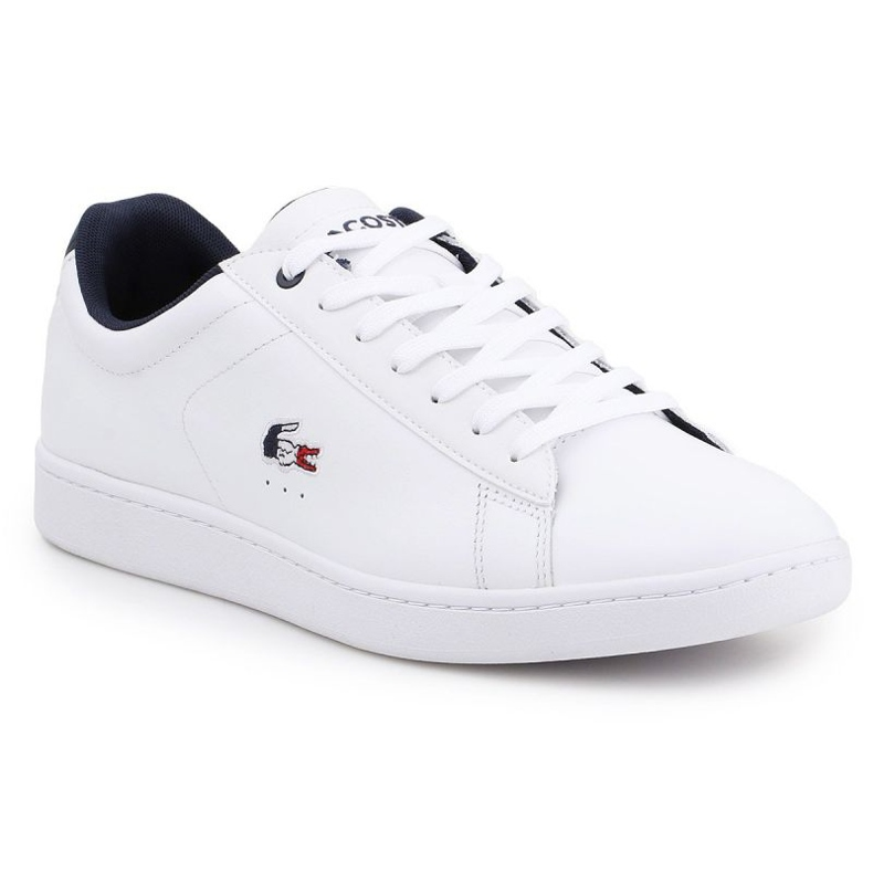 Lifestyle shoes Lacoste Carnaby Evo 119 M 7-37SMA0013407 white navy blue