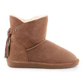 BearPaw Mia Jr 2062Y-220 Hickory Ii shoes white brown