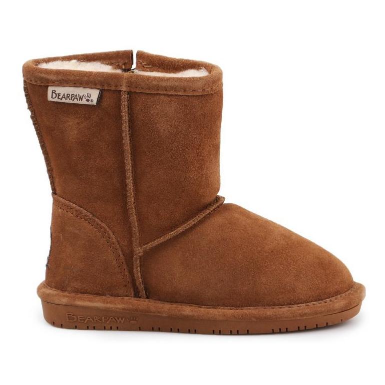 BearPaw Emma Toddler 608TZ Winter shoes brown black