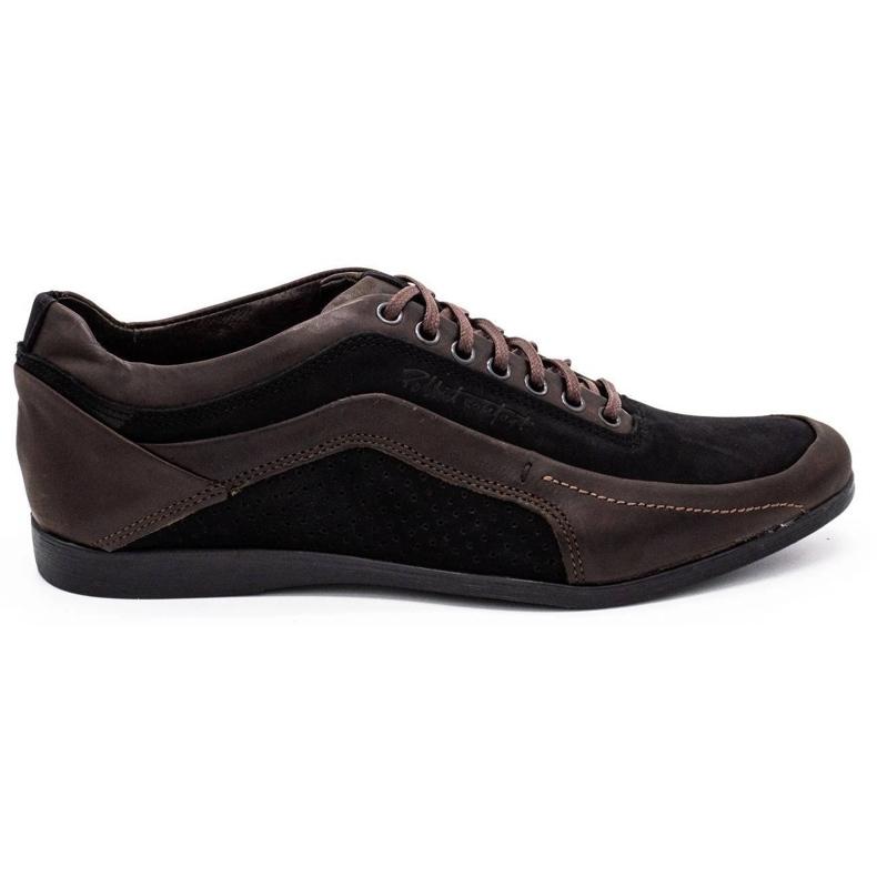 Polbut Casual men's shoes 2101P brown