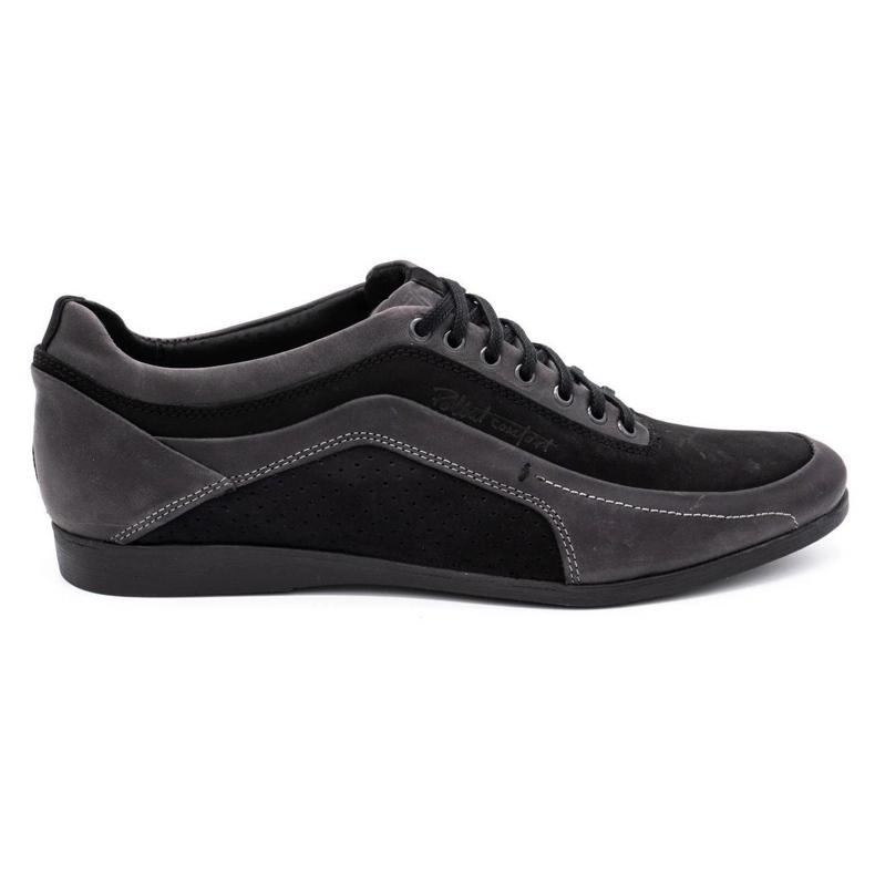 Polbut Men's casual shoes 2101P gray grey