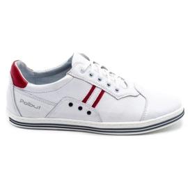 Polbut 1801L white casual men's shoes