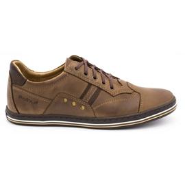 Polbut 1801 brown casual men's shoes