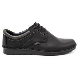 Kampol Men's casual shoes 11/27 black