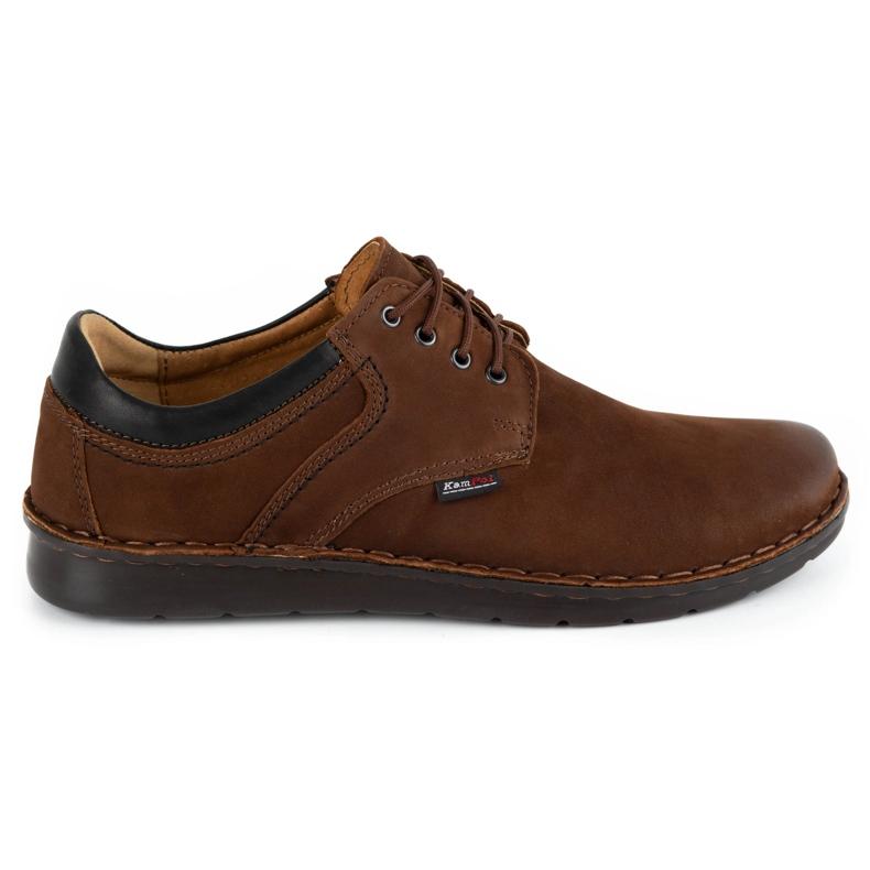 Kampol Casual men's shoes 11 / BR brown