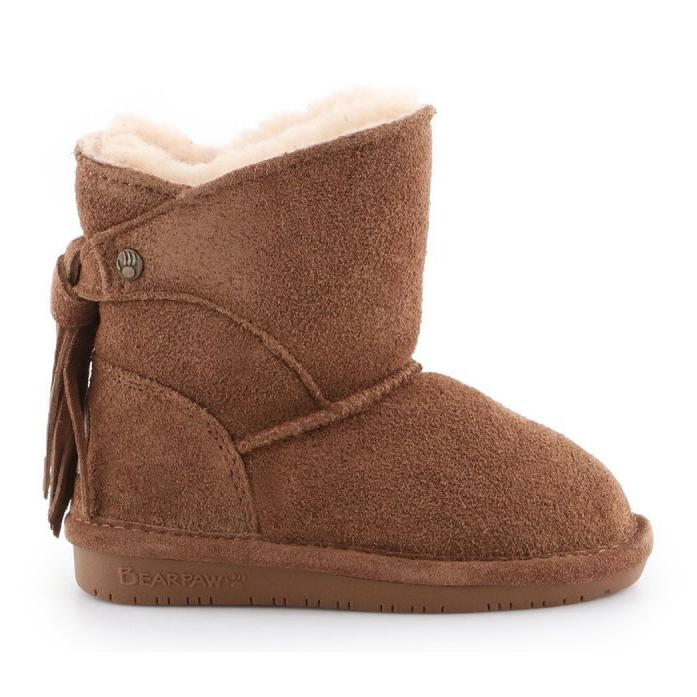 Bearpaw Mia Toddler Jr.2062T-220 Hickory Ii Shoes brown