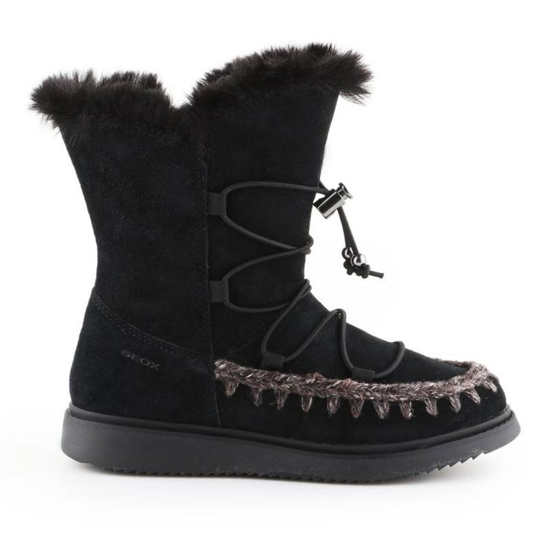 Geox J Thymar GB Jr J944FB-00022-C9999 winter shoes brown blue