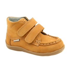 Mazurek Mazurka Loafers With Velcro Camel 127 yellow