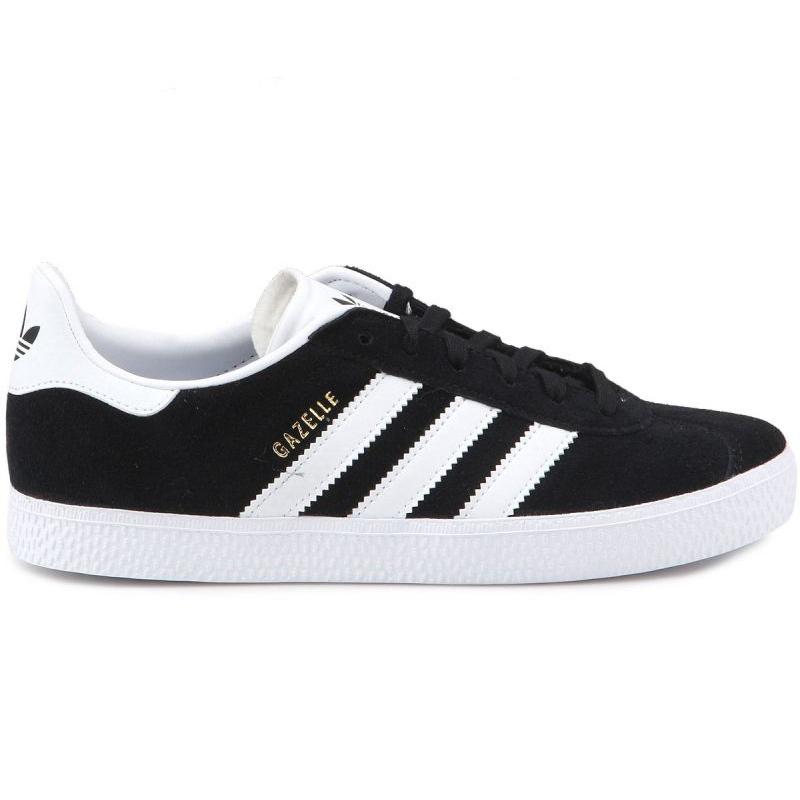 Adidas Gazelle C Jr BB2507 shoes black blue - KeeShoes