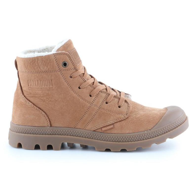 Shoes Palladium Plbrs Mahogany M 05981-257-M brown