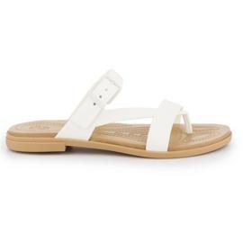 Crocs Tulum Toe Post Sandal W 206108-1CQ white