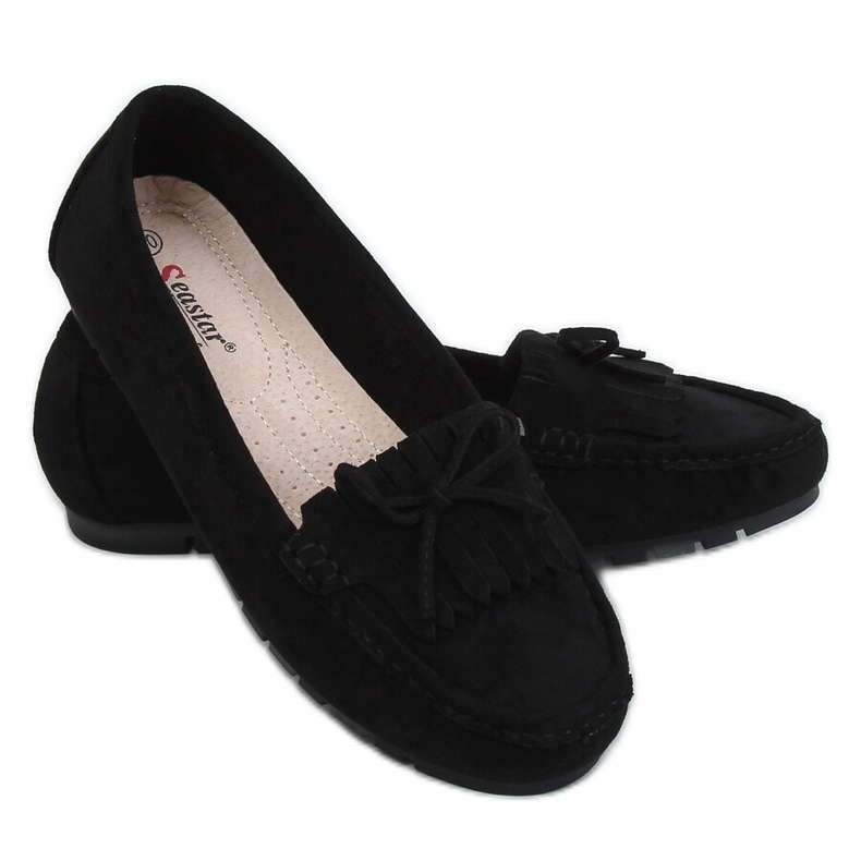 Black Women's loafers GS11P Black