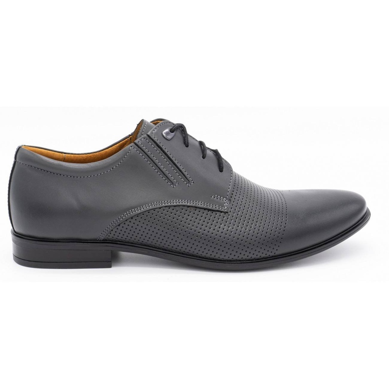 Formal shoes 482 gray grey