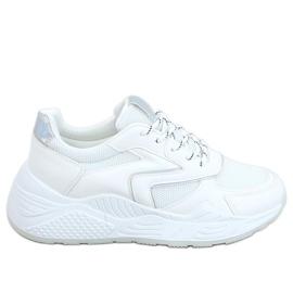White GB-003 White sports shoes