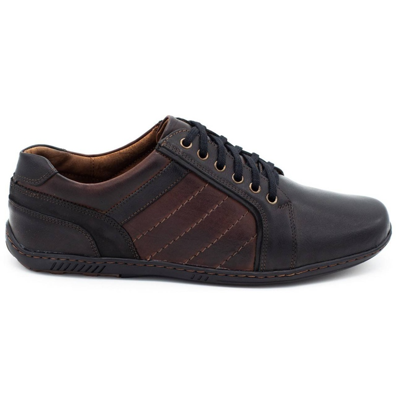 Mario Pala Men's leather shoes 616 brown