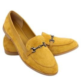 Women's loafers mustard 8742 Yellow
