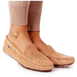 PH1 Women's Suede Loafers Beige San Marino