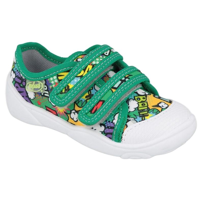 Befado Velcro Sneakers Bang 907P122 multicolored green