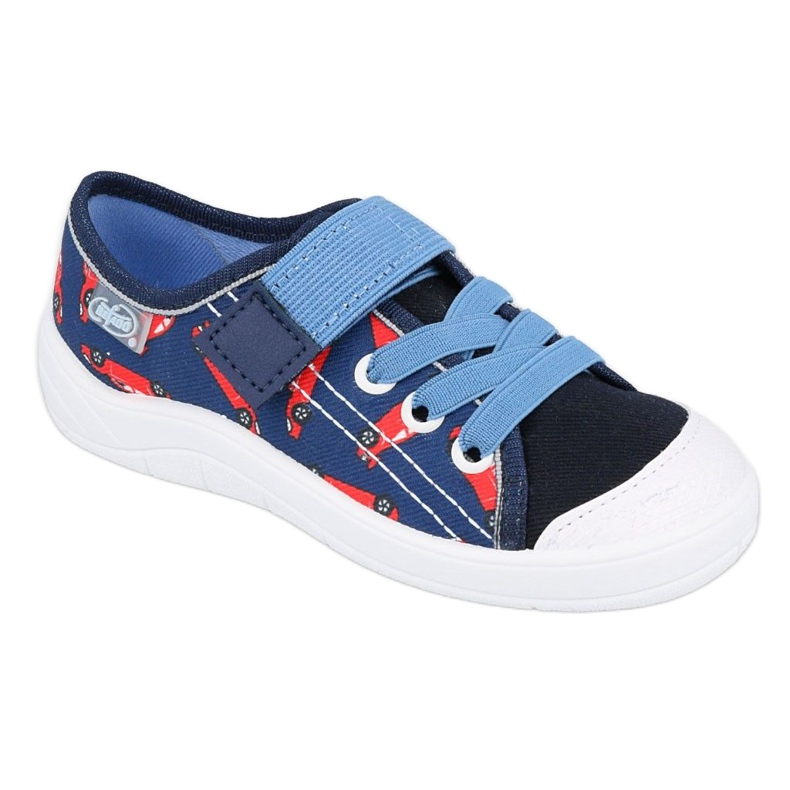 Befado sneakers children's shoes 251X160 red navy blue