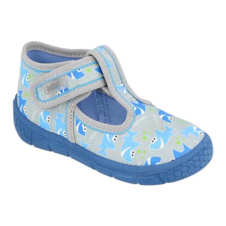 BOY'S SHOES HONEY BEFADO - 531P091 blue grey