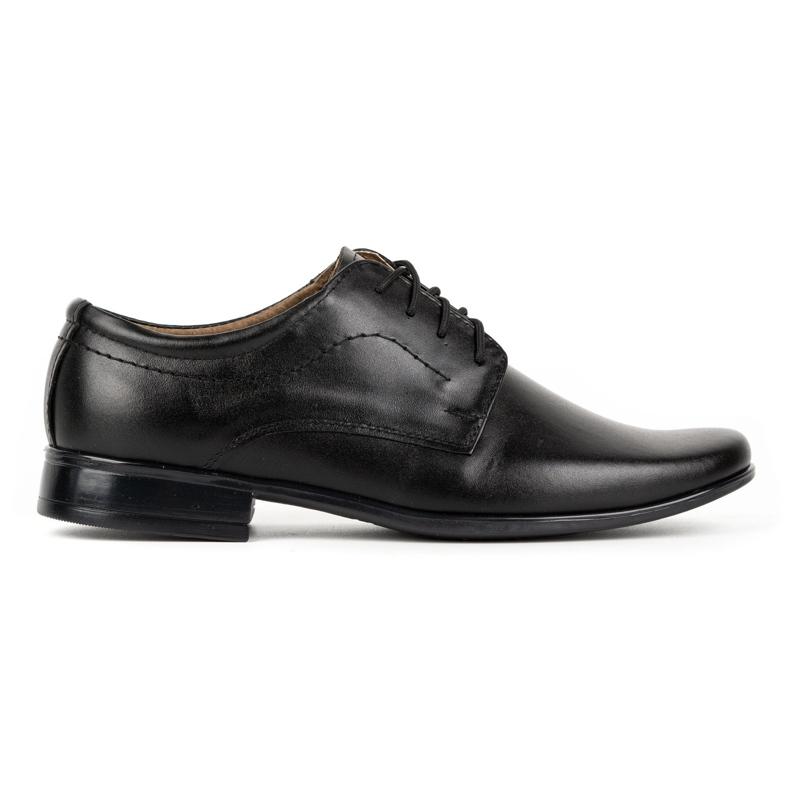 Lukas Children's formal communion shoes J1 black