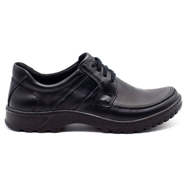 KOMODO Leather men's shoes 853 black