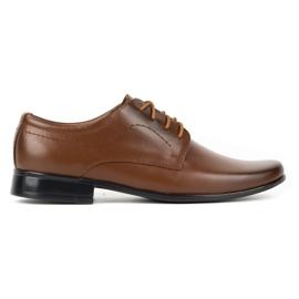 Lukas Children's formal communion shoes J1 brown