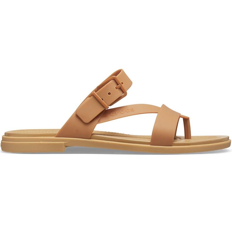 Crocs Women's Sandals Tulum Toe Post Caramel 206 108 277 brown multicolored