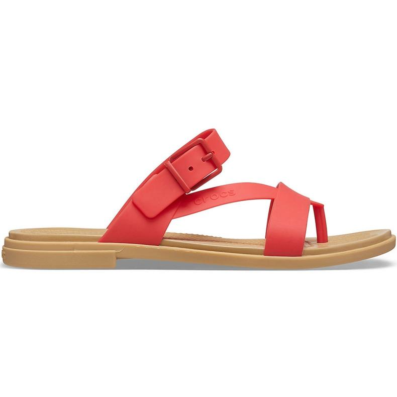 Crocs Women's Slippers Tulum Toe Post red 206108 8C1