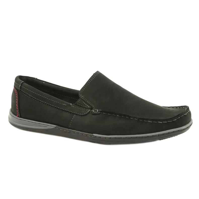 Mario Pala Men's loafers 763 black suede