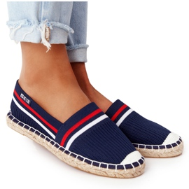 Big Star Tommy espadrilles white red navy