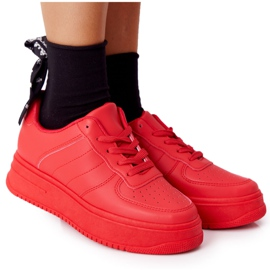 PS1 Women's Sports Shoes On The Platform Red This Is Me
