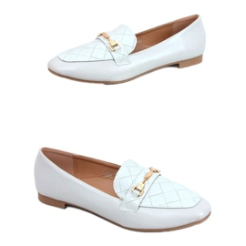 Gray Women's gray loafers JL76 Gray blue grey