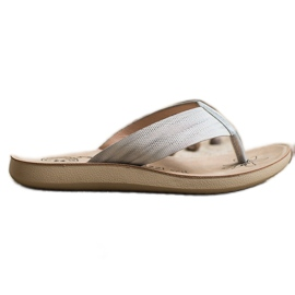 Evento Comfortable flip-flops grey