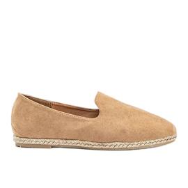 Beige women's Kathryn loafers