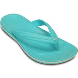 Crocs Women's Slippers Crocband Flip Blue 11033 4DY