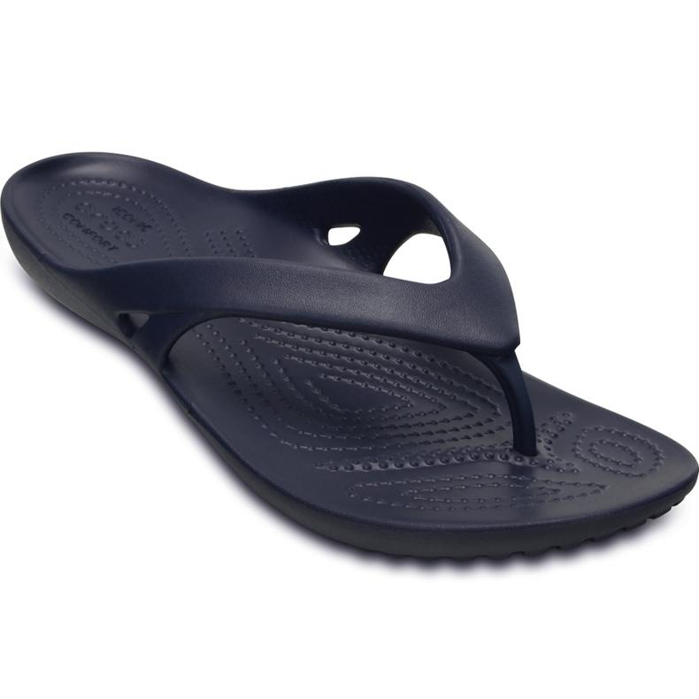 Crocs Kadee Ii Flip W women's slippers navy blue 202492 410