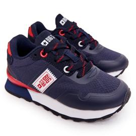 Children's Sport Shoes Memory Foam Big Star HH374171 Navy Blue
