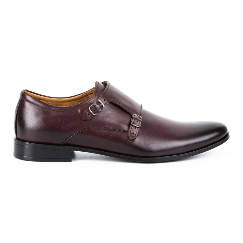 Lukas Leather formal shoes Monki 287LU claret red