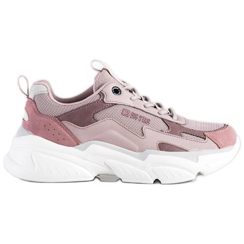 Women's Sneakers Big Star HH274258 violet pink
