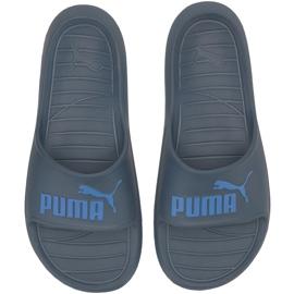 Puma Divecat v2 navy blue slippers 369400 12