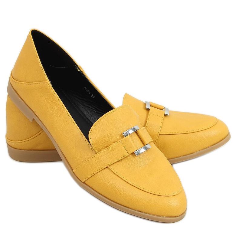 Women's honey loafers 4585 Yellow
