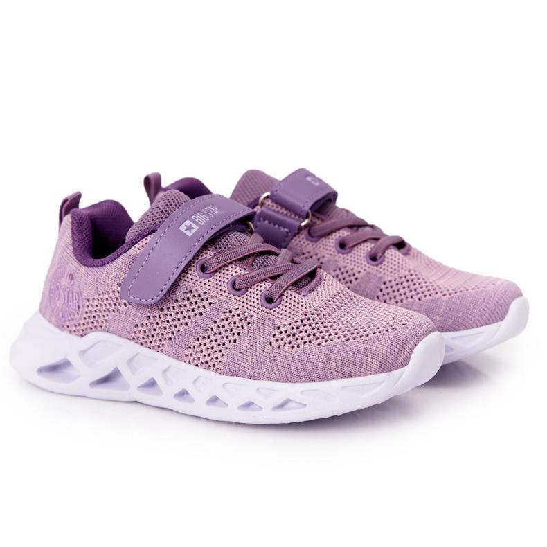 Children's Sport Shoes Sneakers Big Star HH374183 Violet