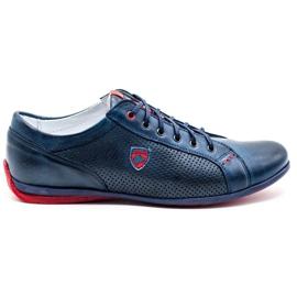 Joker Men's casual shoes 295 navy blue red
