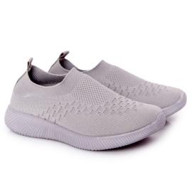 EVE Children's Sport Shoes Slip-On Gray School Trip grey