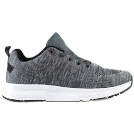 SHELOVET Light Lace-up Sneakers grey