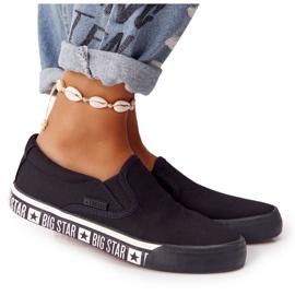 Women's Sneakers Slip-on Big Star HH274012 Black