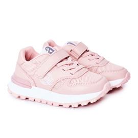 Apawwa Children's Sport Shoes Sneakers Pink Skatepark